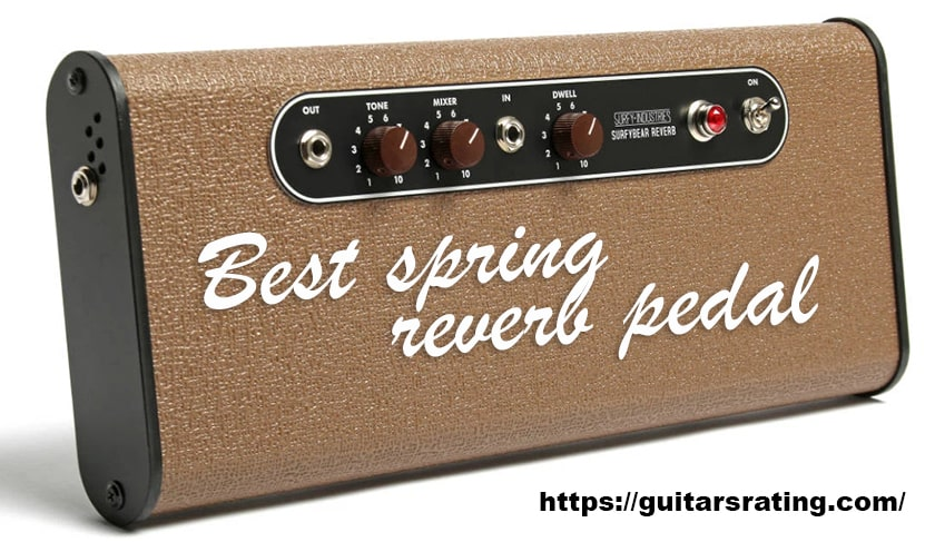 Best spring reverb pedal