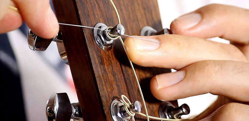 Why do strings deteriorate?