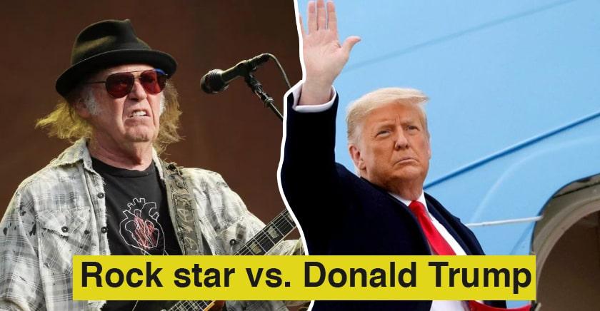 Rock star vs. Donald Trump