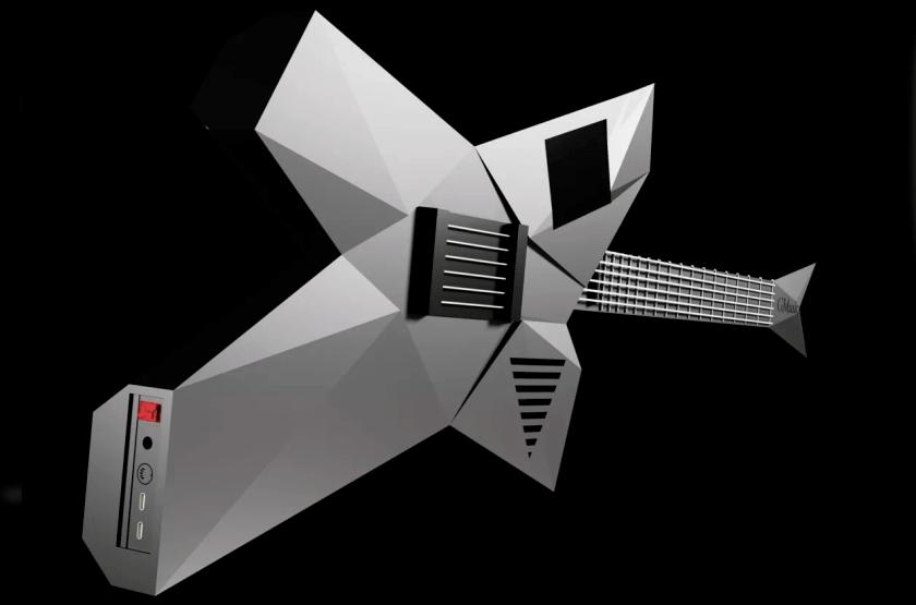 Futuristic guitar for everyone