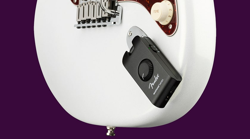 New Headphones Amplifier to Take Guitar With You