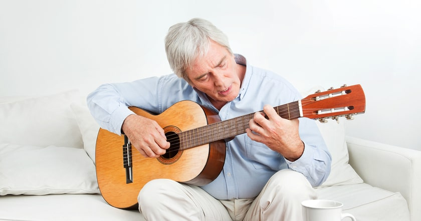Treating PTSD with guitar lessons